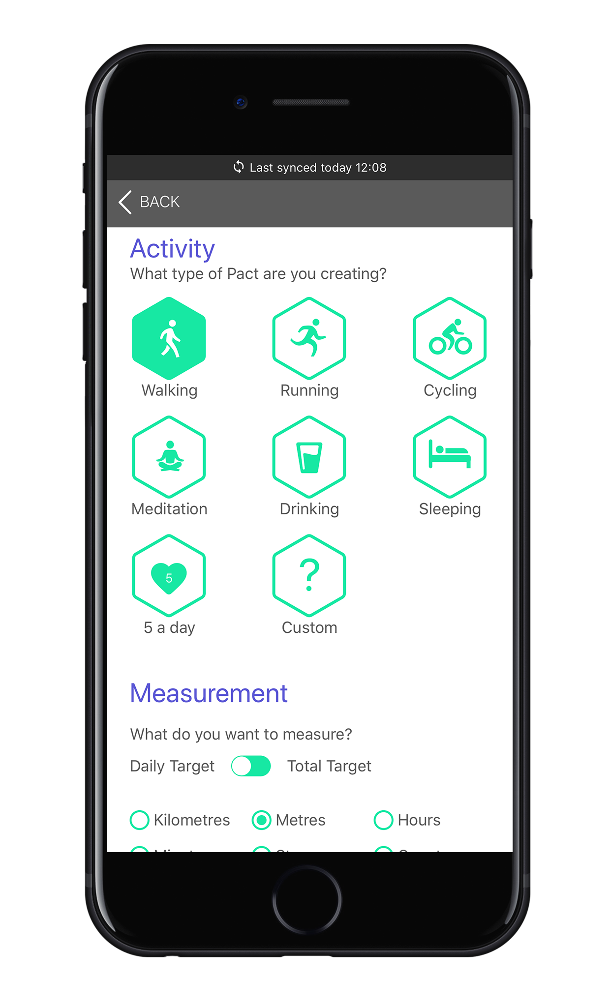 Inspire active movement with Pactive app